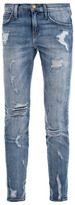 Current/Elliott Stiletto mid-rise distressed skinny jeans