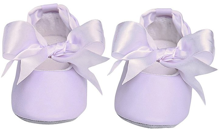 Mud Pie Baby Ballet Slippers, Perfectly Princess Pink