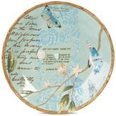 Fitz & Floyd Hand Painted Toulouse Round Platter