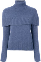 Chloé cape shoulder sweater - women - Cashmere - XS