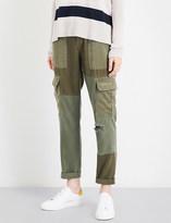 Hudson Riley Utility Cargo boyfriend twill trousers