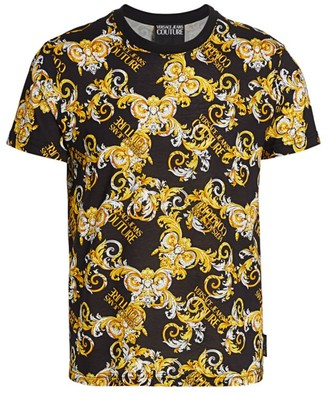 Versace Baroque Logo Graphic T-Shirt