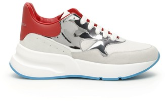Alexander McQueen Oversized Colour Block Sneakers