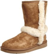 UGG Carter Womens US Size 6 Tan Lambskin Leather Winter Boots