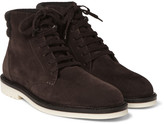 Loro Piana - Icer Walk Cashmere-trimmed Suede Boots