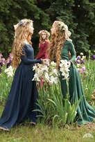 """Etsy Bridesmaid Gown; Linen Dress; Women's Dress """"Secret Garden"""""""