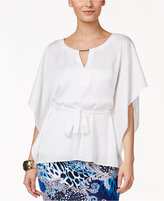 Thalia Sodi Belted Capelet Top, Only at Macy's