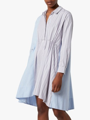 French Connection Salma Trapeze Shirt Dress, Multi
