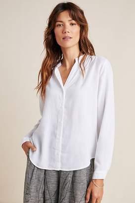 Cloth & Stone Smocked Chambray Shirt