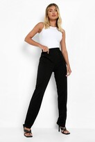Thumbnail for your product : boohoo Piping Detail Satin Luxe Jogger