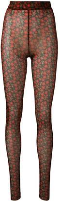 Henrik Vibskov floral print leggings