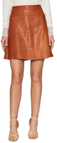 Temperley London Ernst Majorelle Leather A Line Skort