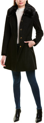 Laundry by Shelli Segal Wool-Blend Coat
