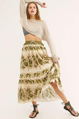 Free People Spell And The Gypsy Collective Coco Lei Maxi Skirt by Spell and the Gypsy Collective at