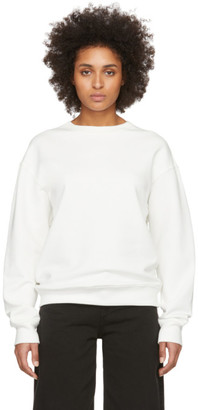 032c SSENSE Exclusive White Smiley Sweatshirt