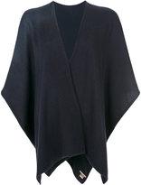 Hemisphere knitted cape