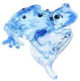 Swarovski S955439 Crystal 2009 Event Piece Blue Dart Frog