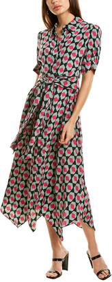 Diane von Furstenberg Kendyl Silk Midi Dress