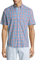 Tailorbyrd Short-Sleeve Plaid Sport Shirt