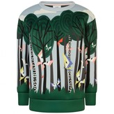 Fendi FendiGirls Multi-Coloured Butterflies Sweater