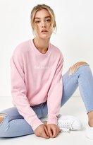 La Hearts Graphic Crew Neck Pullover Sweatshirt