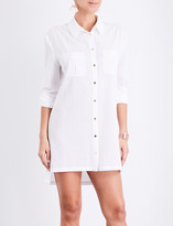 Heidi Klein Maine oversized woven shirt dress