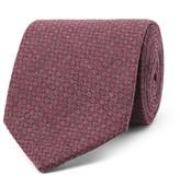 Oliver Spencer - 8cm Two-tone Cotton-jacquard Tie