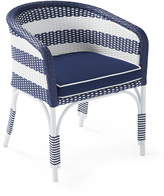 Serena & Lily Outdoor Riviera Bucket Chair with Cushion