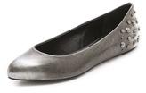 McQ by Alexander McQueen alexander mcqueen Metallic Studded Ballet Flats