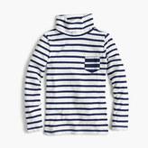 J.Crew Girls' striped tissue turtleneck T-shirt