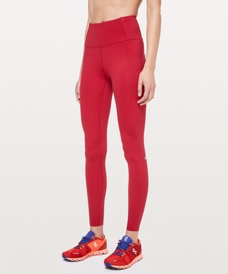 "Lululemon Fast and Free Tight 28"" *Non-Reflective"