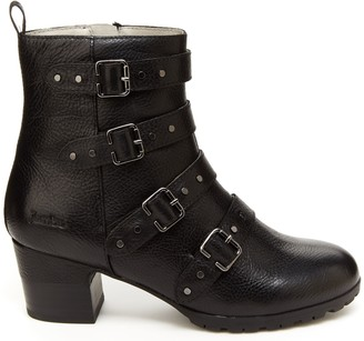 Jambu Water Resistant Leather Ankle Boots - Juliana