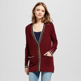 Mossimo Women's Boyfriend Cardigan with Tipping