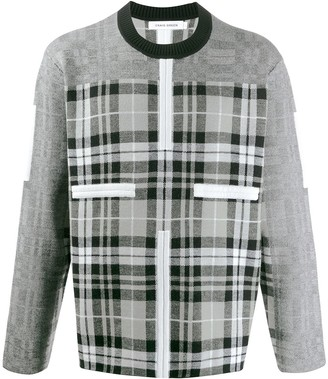 Craig Green Birdseye checked panel jumper
