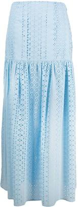 FEDERICA TOSI Full-Length Broderie Anglaise Skirt