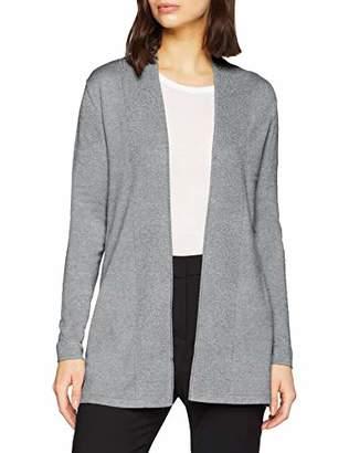 Melange Home s.Oliver BLACK LABEL Women's 29.812.64.2179 Cardigan, (Easy Grey 9428), 10 (Size: )