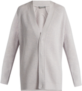 Vince V-neck wool and cashmere-blend cardigan