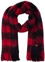 Superdry ORKNEY Scarf red/black