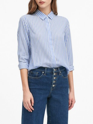 Banana Republic Parker Tunic-Fit TENCEL Shirt