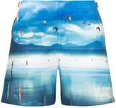 Orlebar Brown Bulldog High Flyers print swim shorts