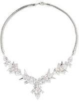 Noir Freeze-Up Silver-Tone Crystal Necklace