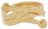 Aurelie Bidermann Ariane gold-plated ring