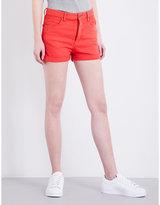 Fiorucci The Patty high-rise denim shorts