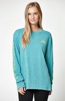 Obey Vibes Custom Box Pigment Long Sleeve T-Shirt