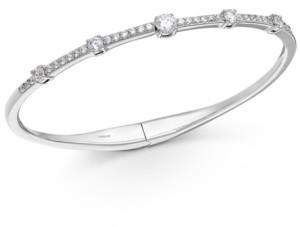Eliot Danori Crystal Hinge Bangle Bracelet, Created for Macy's