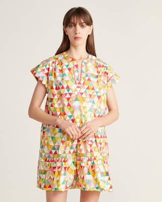 Saloni Ashley Triangle Tunic Dress