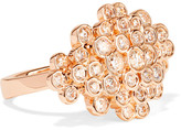 Ippolita Glamazon® Stardust 18-karat Rose Gold Diamond Ring - 7