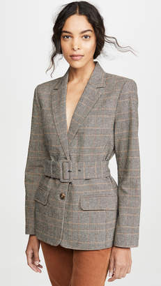 BB Dakota Belted Blazer