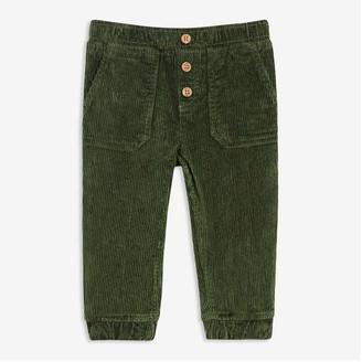 Joe Fresh Baby Boys' Corduroy Pants, Army Green (Size 6-12)