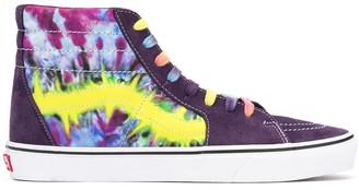 Vans Tie-dye hi-top sneakers